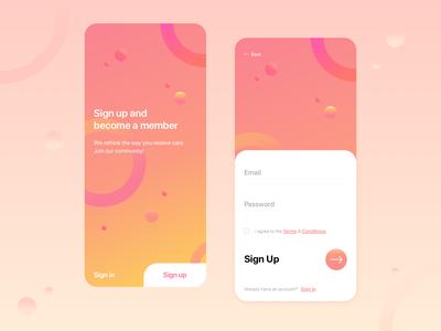 Daily UI #01 - Sign Up dailyui001 ux design ui design art direction design ui  ux