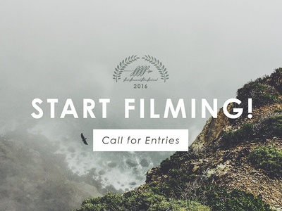 Call for Entries (Fast Forward Film Festival) rochester call to action typography nature film festival web ad advertisement ad photography