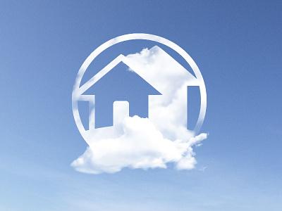 Team Gaffney Clouds clouds blue sky digital house logo cloud