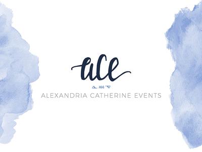 Alexandria Catherine Events Logo