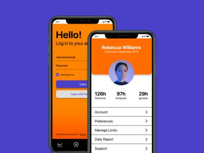 TIME - app concept