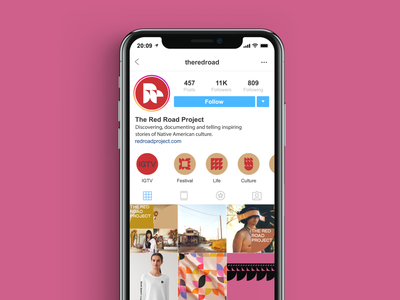 The Red Road Project insta story insta post patterns pink social media pack web digital mobile social media marketing digital marketing marketing social campaign digital design instagram post template instagram template instagram stories instagram post social media instagram inspiration