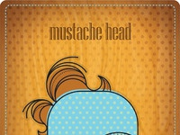 Mustache head