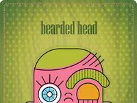 Bearded head