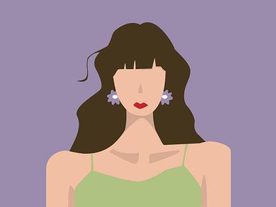 summer girl summer human illustrator illustration design