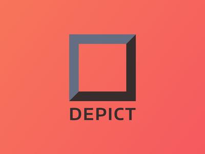 Depict Rebrand logo brand
