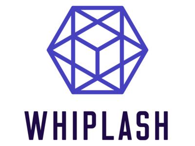 Whiplash Logo illustration flat icon branding logo
