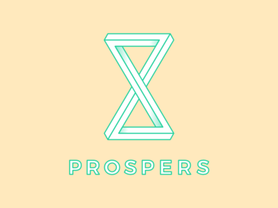 Prospers Co gold logo identity brand branding