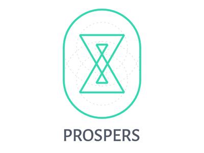 Prospers Instant Green Tea icon branding logo