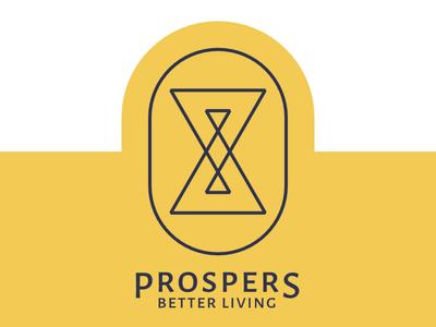 Prospers Club flat icon branding logo