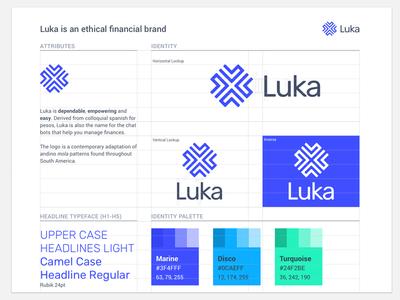 Brand Identity Guidelines Poster illustration flat icon branding logo