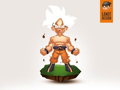 Son Goku Fan Art Illustration graphic designer anime mastered ultra instinct son goku digital illustrator dragon ball super dragon ball illustration fan art