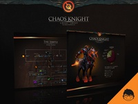 Chaos Knight Infographic