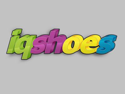 Lanotdesign iqshoes logo  dribbble