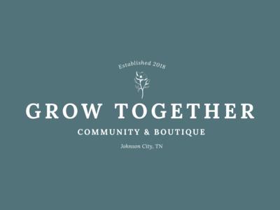 Grow Together - Primary logo lockup