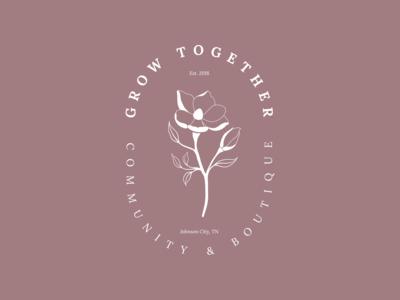 Grow Together - Alternate badge logo