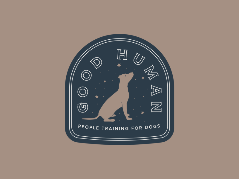 Good Human logo badge