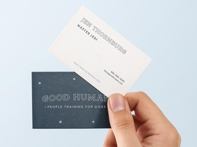 Good Human - Identity Business Card Mockup business card card mockup branding brand identity logo