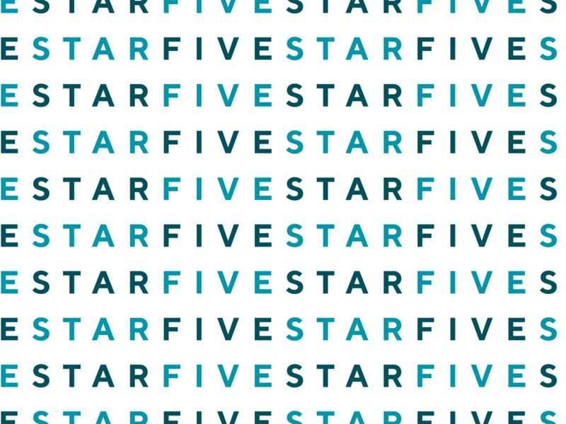 Fivestar Logo Pattern brand design logo design font type raleigh typography design branding brand identity logo