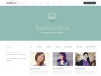 StyleSeat Elite Page