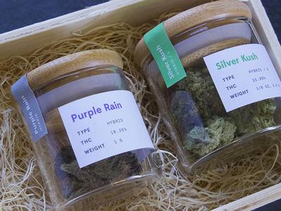 Flower Jar Labels