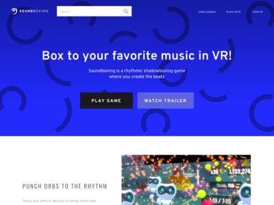 Soundboxing Home Page