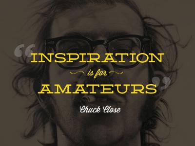 Inspiration amateurs