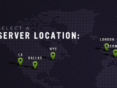 Server Map map typography ultramagnetic gotham