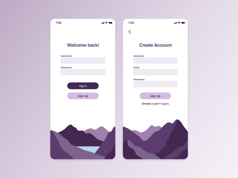 Daily UI 001 / Sign Up dailyui ui design ui sign up figma illustrator daily ui 001