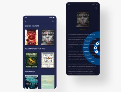Book reading app book reading app mobile app design ui design dribble dribble invite adobe xd design uxdesign adobe dribble shot adobe photoshop