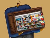 letting go of the newsstand