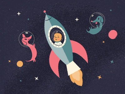 Baby in Space