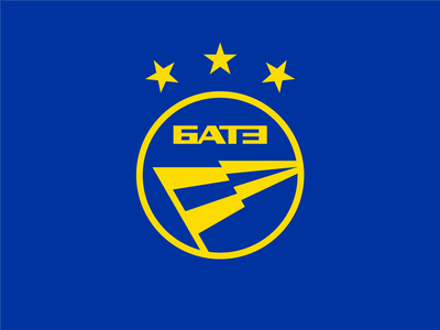 FC BATE logo design logo lightning factory minimalism football club football champions league belarus flag q10 design sports logo sports identity sports design sports branding sports sport