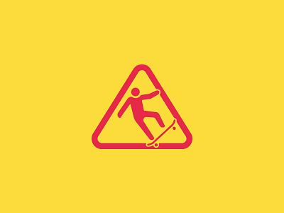 Slippery | 小心地滑 icon caution slippery