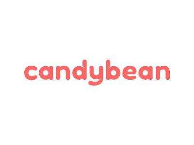 Candybean design grapic logo bean candy