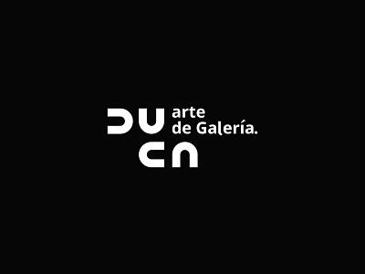 duca arte de galeria logos logotype typeface art logo art gallery gallery museum logodesign minimal company business branding identity design brand logo