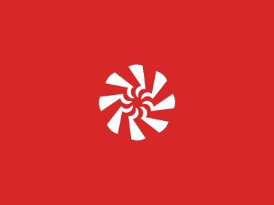 Windmill Vortex Logo vortex wind farms windmill symbol business logos logo brand logodesign branding identity design brand logo