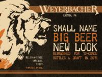 Weyerbacher Tiny 12oz Release Promo Postcards