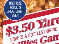 Cracker Jack-style Yards poster