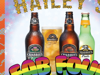 Haileys Harp & Pub Fab Four Fest with Crabbies Ginger Beer