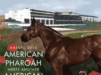 Haskell 2015 - American Pharoah at Monmouth Park
