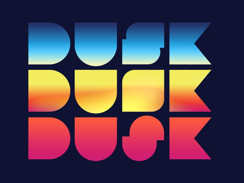 "Which ""S"" is best? (Dusk Interactive) dusk s logo branding identity"