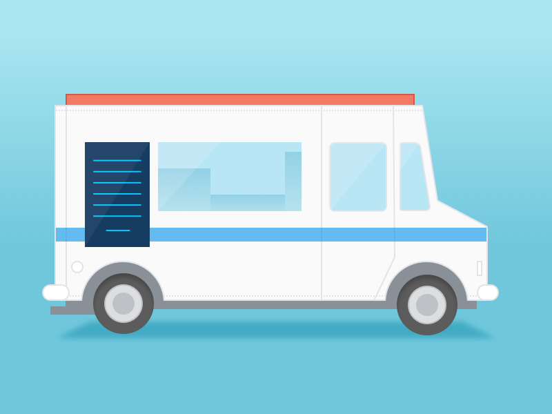 Food Truck small business nav food truck