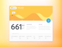 Credit Score Report Card - Material Design