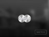 Silver mastercard logo sketch 2x