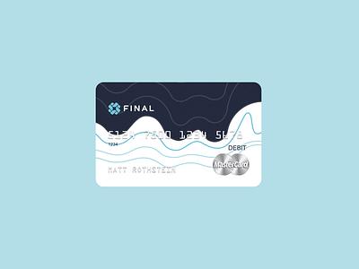 Final Debit Card credit card final