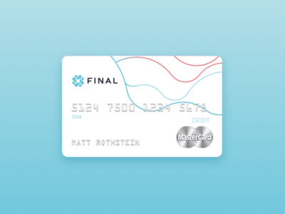 Final Debit Card credit card final