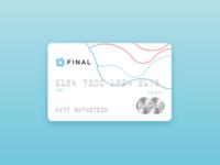 Final Debit Card
