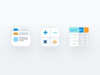 Dribbble menu icons 2x