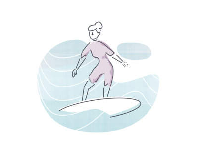 "Illustration Experiment 2 ""Surf"""